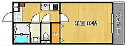 SAKASU KAGURASAKA[303号室]の間取り
