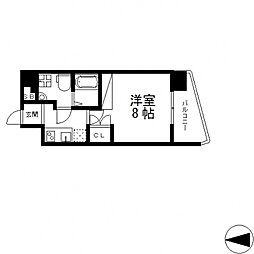 セレニテ高井田[401号室号室]の間取り