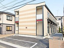 東京都江戸川区大杉2丁目の賃貸アパートの外観