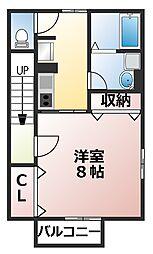 メゾン・マキ[2階]の間取り