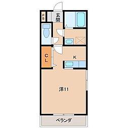 ロイヤルコート松島[2階]の間取り
