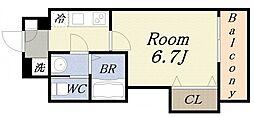 ラグゼドーム前II[3階]の間取り