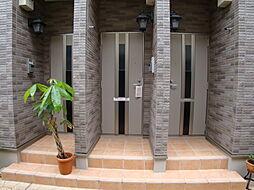 兵庫県宝塚市米谷2丁目の賃貸アパートの外観