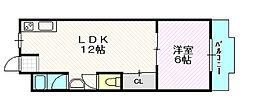 和ハイツ3[2階]の間取り
