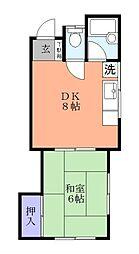 ミヤマハウス[2階]の間取り