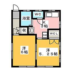 蔵[2階]の間取り
