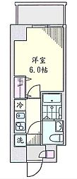 ゆう井土ヶ谷[2階]の間取り