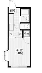 セジュール片田[2階]の間取り
