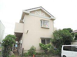 千葉県船橋市古和釜町の賃貸アパートの外観