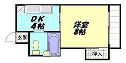 比治山橋駅 4.3万円