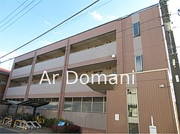 千葉県松戸市中和倉の賃貸マンションの外観