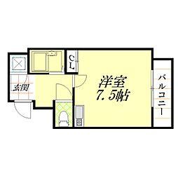 DS大宮[6階]の間取り