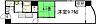 間取り,2K,面積42.41m2,賃料7.4万円,広島電鉄8系統 土橋駅 徒歩3分,広島電鉄8系統 十日市町駅 徒歩6分,広島県広島市中区堺町1丁目