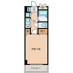 サンモール[8階]の間取り