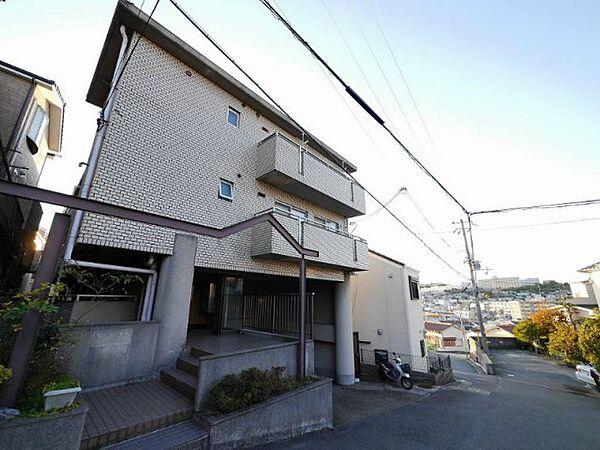 兵庫県神戸市垂水区山手5丁目の賃貸マンション