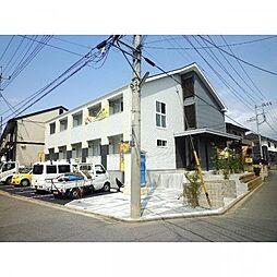 神奈川県伊勢原市串橋の賃貸アパートの外観