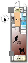 Groove Nipponbashi[5階]の間取り