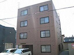 北海道札幌市西区発寒二条2丁目の賃貸マンションの外観