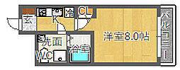 SERENiTE江坂四番館[3階]の間取り