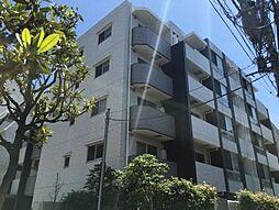東京都港区白金3丁目の賃貸マンションの外観