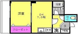 パークハイム[5階]の間取り