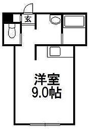 レラ円山[101号室]の間取り