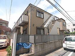 東京都足立区竹ノ塚3丁目の賃貸アパートの外観