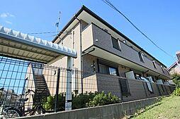 滋賀県大津市本宮2丁目の賃貸アパートの外観