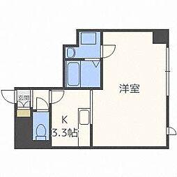 キューブ17[4階]の間取り