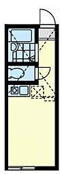 ユナイト弘明寺ヘンリーの杜[2階]の間取り