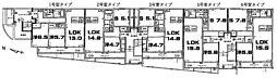 アイビー・ハル 稲田本町1 徳庵12分[1階]の間取り
