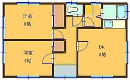 鳥取県米子市西福原5丁目 [一戸建] の間取り