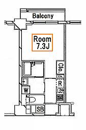 新築 Sレジデンス月島[3階]の間取り