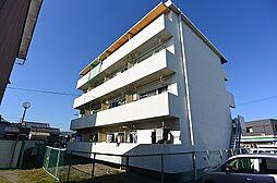 京都府八幡市八幡千束の賃貸マンションの外観