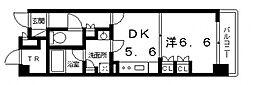 エル・セレーノ上本町レジデンス(C´タイプ)[11階]の間取り
