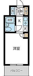 ウィンベルソロ蒲田第2[305号室]の間取り