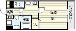 巽北ロイヤルマンション[103号室]の間取り