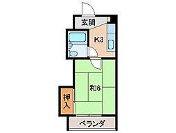 リゾートハウス貴志[2階]の間取り
