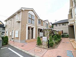 兵庫県揖保郡太子町東南の賃貸アパートの外観