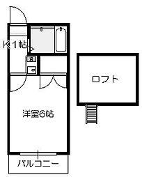MIYATO[106号室]の間取り