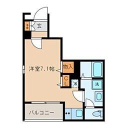 都営三田線 巣鴨駅 徒歩2分の賃貸マンション 1階ワンルームの間取り