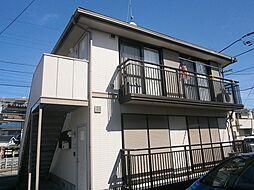 リリーヴィラ国立B棟[2階]の外観