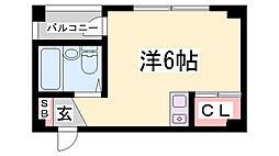ドミール太田[4階]の間取り