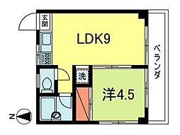 メゾン・ユキ[2階]の間取り
