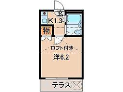 和歌山Part1マンション[1階]の間取り