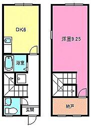 [タウンハウス] 滋賀県湖南市岩根 の賃貸【/】の間取り