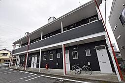 栃木県宇都宮市宮の内2丁目の賃貸アパートの外観