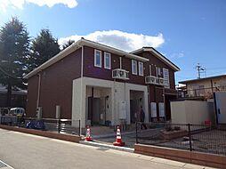 長野県松本市県3丁目の賃貸アパートの外観