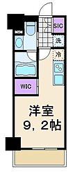 東京メトロ東西線 東陽町駅 徒歩2分の賃貸マンション 7階ワンルームの間取り