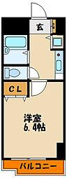 YKハイツ西明石[9階]の間取り